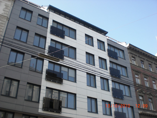 Mehrgeschossiger Wohnbau