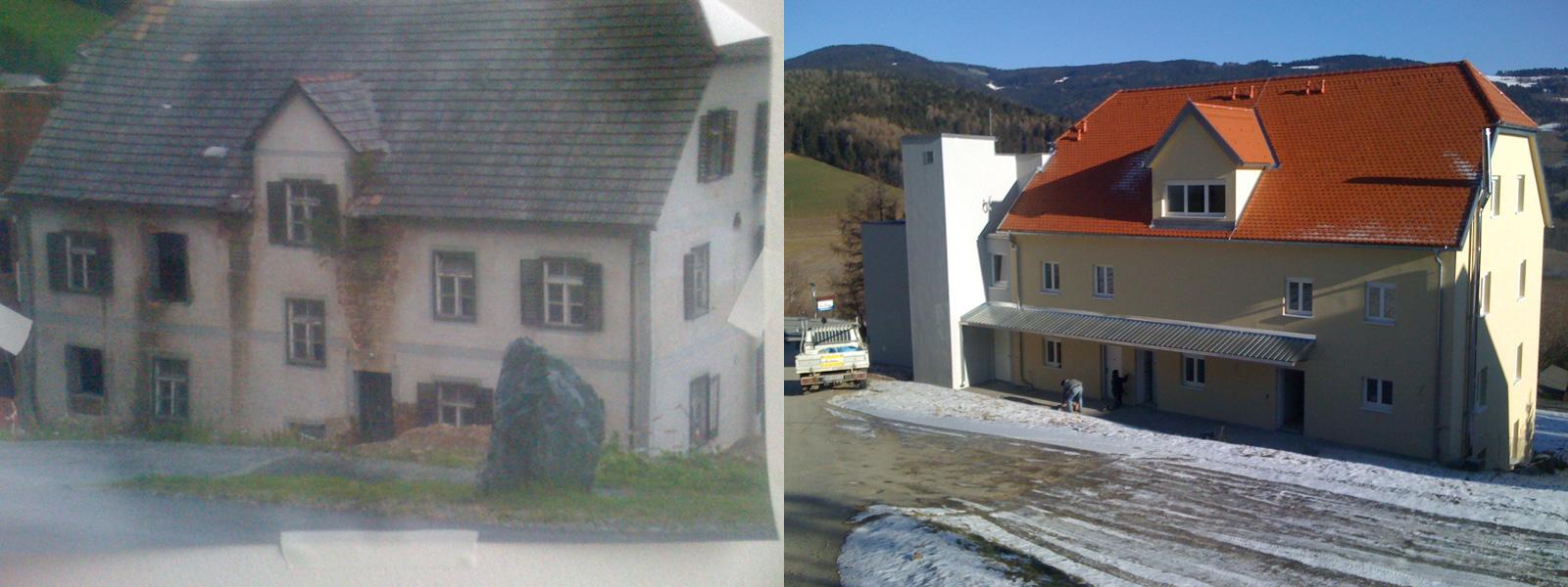 Umfassende Sanierung – Betreutes Wohnen Pöllauberg